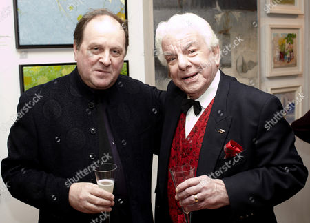 James Naughtie and Barry Cryer