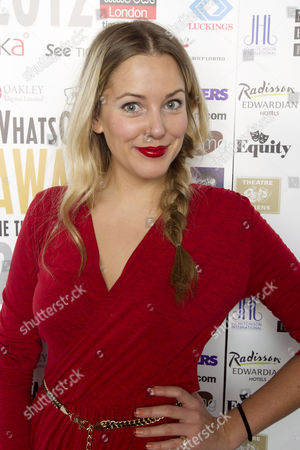Editorial image of 2012 Whatsonstage.Com Awards Nominations Party, Cafe De Paris, London, Britain - 02 Dec 2011