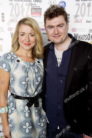 Stock Image of Alecky Blythe and Adam Cork