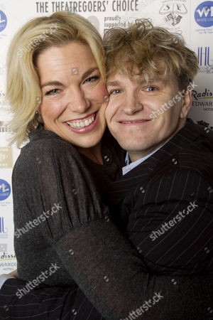 Hannah Waddingham and Ben Goddard