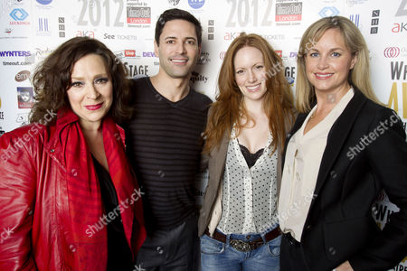 Harriet Thorpe, Sean Palmer, Clare Foster and Kim Medcalf
