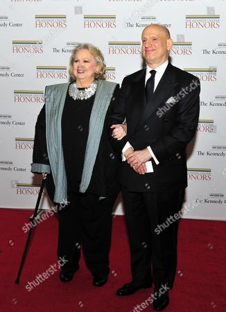 Stock Photo of Barbara Cook and her son, Adam LeGrant