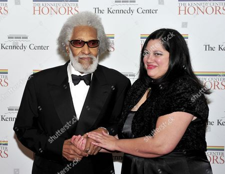 Sonny Rollins and his friend, Terri Hinte