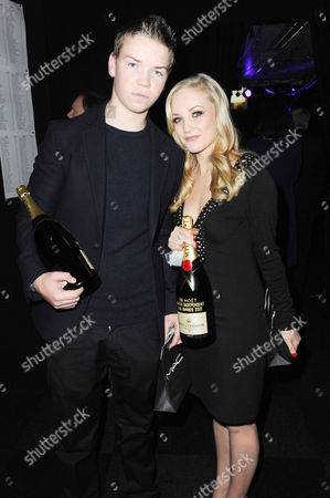 Will Poulter and Nichola Burley