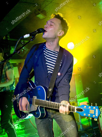 Editorial photo of The Ordinary Boys in concert at King Tuts, Glasgow, Scotland, Britain - 04 Dec 2011