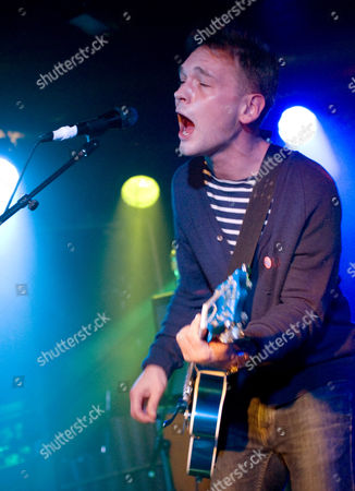 Editorial image of The Ordinary Boys in concert at King Tuts, Glasgow, Scotland, Britain - 04 Dec 2011