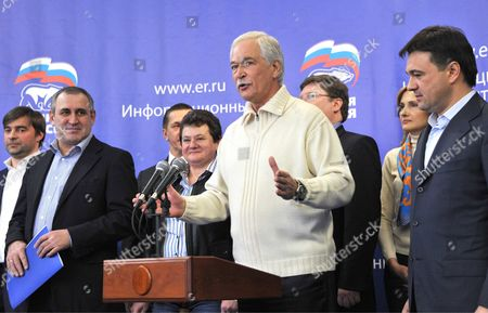 Boris Gryzlov, Chairman of the United Russia party's Supreme Council and the State Duma Speaker