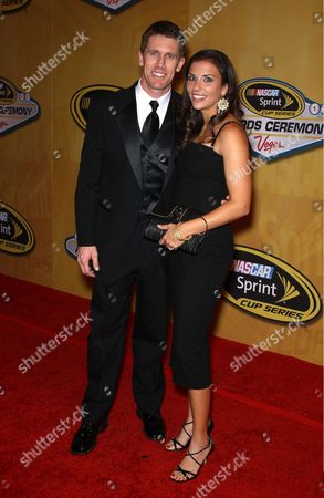 Stock Picture of Carl Edwards, Kate Edwards