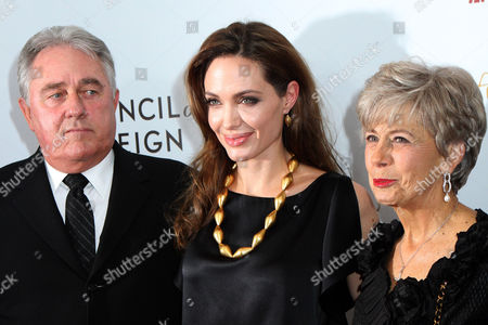 Bill Pitt, Angelina Jolie and Jane Pitt