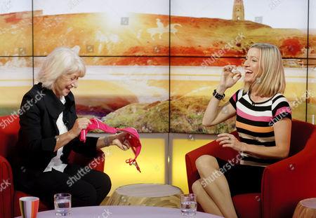 Helen Mirren and Cordelia Kretzschmar