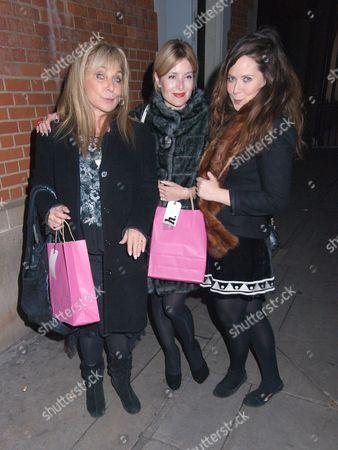 Helen Lederer, Bianca Brigette Bonomi and Rosie Fellner