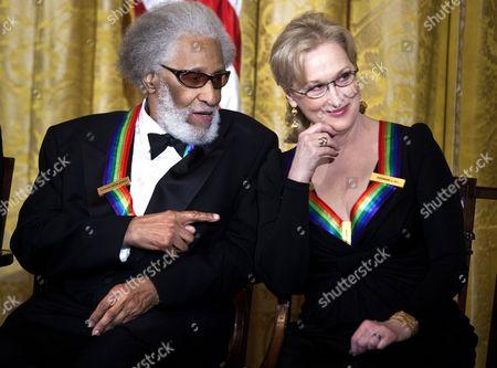Sonny Rollins and Meryl Streep