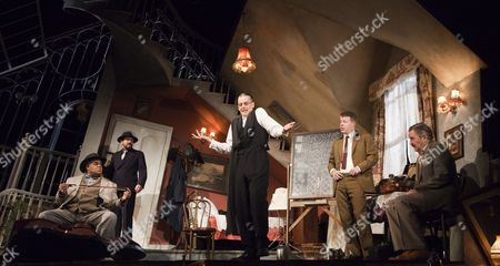 Editorial image of 'The Ladykillers' play performed at the Gielgud Theatre, London, Britain - 05 Dec 2011