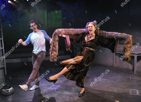 'Pippin' - Harry Hepple as Pippin and Louise Gold as Berthe