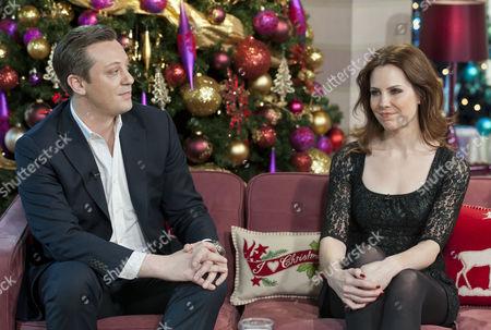Anton Kreil and Emma Kenny