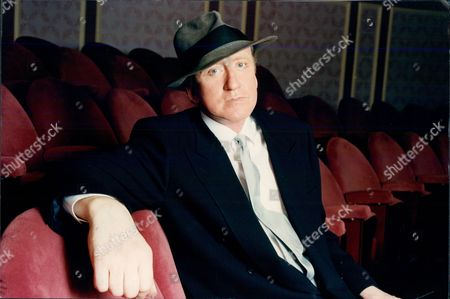 Actor Nicol Williamson In The Seats Of The Criterion Theatre