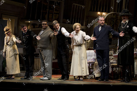 Beverley Walding (Mrs Jane Tromleyton), Harry Peacock (Constable MacDonald), Clive Rowe (One Round), Peter Capaldi (Professor Marcus), Marcia Warren (Mrs Wilberforce), Ben Miller (Louis) and James Fleet (Major Courtney)