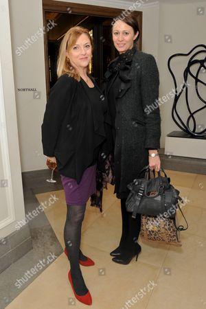 Stock Photo of Jan Dalley and Caroline Rush