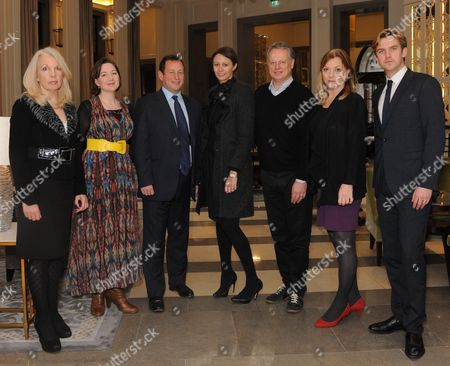 Editorial picture of 'The Corinthia Residency' launch at Corinthia Hotel, London, Britain - 08 Dec 2011