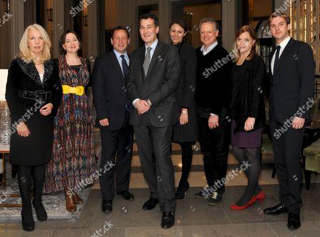 Editorial image of 'The Corinthia Residency' launch at Corinthia Hotel, London, Britain - 08 Dec 2011
