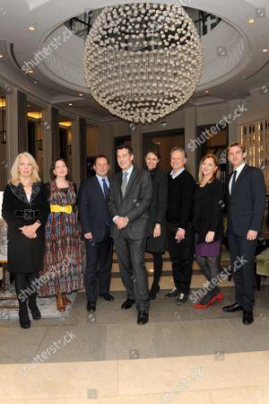 Editorial photo of 'The Corinthia Residency' launch at Corinthia Hotel, London, Britain - 08 Dec 2011