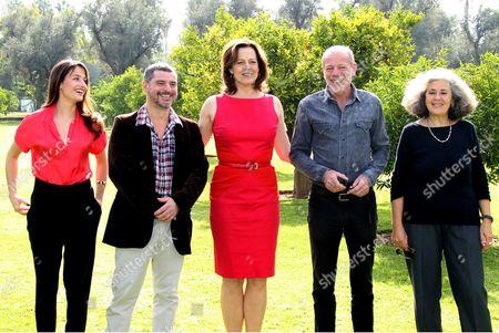 Marie Gillain, Pierre Salvadori, Sigourney Weaver, Pascal Greggory and Farida Benlyazid