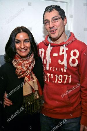 Daniel Galmiche and wife Claire
