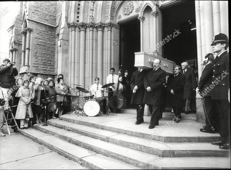 Funeral Of Actress Pat Phoenix At Holy Name Church In Manchester