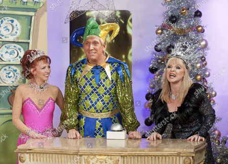 Bonnie Langford, Kevin Cruise and Toyah Willcox.