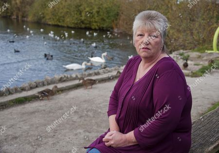 Editorial image of Linda Taylor who is the founder of 'Voices For Death Row Inmates' penpal organisation, Wales, Britain - 08 Dec 2011