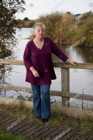 Editorial picture of Linda Taylor who is the founder of 'Voices For Death Row Inmates' penpal organisation, Wales, Britain - 08 Dec 2011