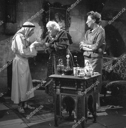 Joseph Cuby, Margaret Rutherford and Martita Hunt