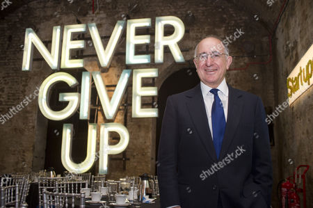 Editorial picture of Ken Costa, newly appointed chairman of St Paul's Initiative, The Old Vic Tunnels, London, Britain - 01 Dec 2011