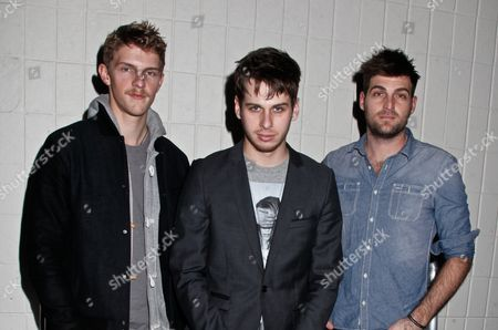 Foster the People - Mark Pontius, Mark Foster and Cubbie Fink