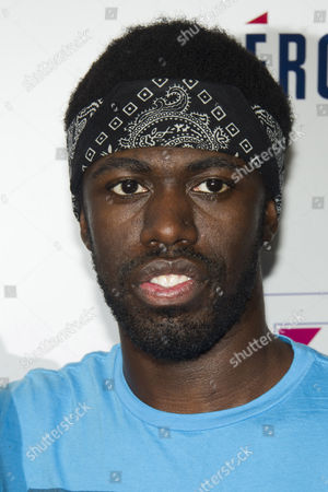 Stock Photo of Disashi Lumumba-Kasongo of Gym Class Heroes
