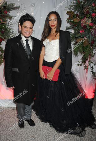 Prince Azim and Leona Lewis