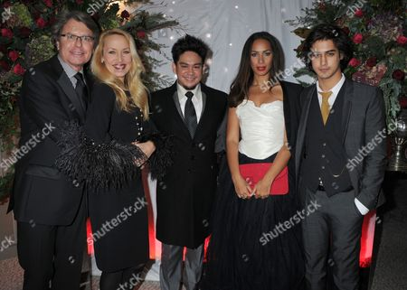 Warwick Hemsley, Jerry Hall, Prince Azim, Leona Lewis and Avan Joggia