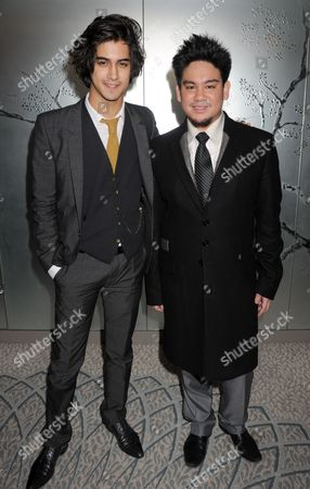 Avan Joggia and Prince Azim