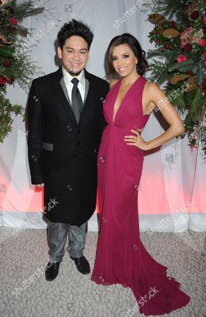 Prince Azim and Eva Longoria