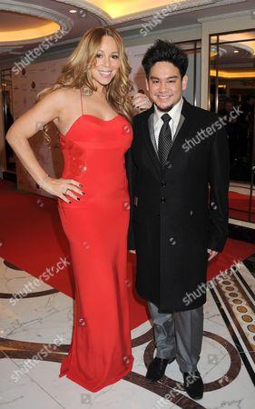 Mariah Carey and Prince Azim