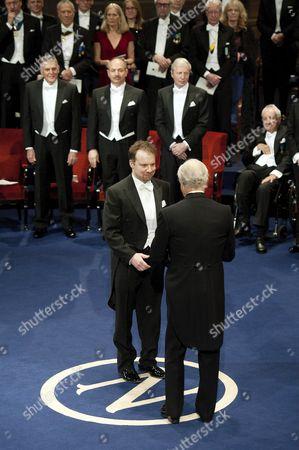 Editorial photo of Nobel Prize Award Ceremony, Stockholm, Sweden - 10 Dec 2011