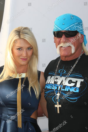 Jennifer McDaniel and Hulk Hogan