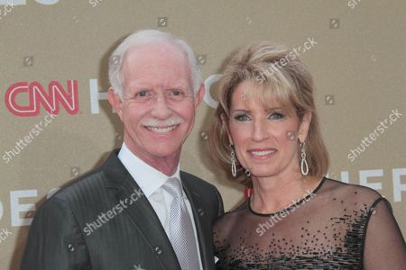 Lorrie Sullenberger and Captain Chesley B Sullenberger III