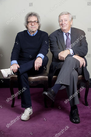 Editorial picture of Dick Clement and Ian Le Frenais, London, Britain - 01 Dec 2011