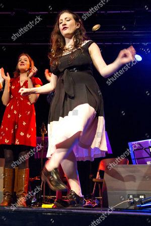 Editorial photo of Unthanks performing at Princess Pavilions, Falmouth, Cornwall, Britain - 10 Dec 2011