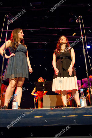 Stock Image of Becky Unthank and Rachel Unthank