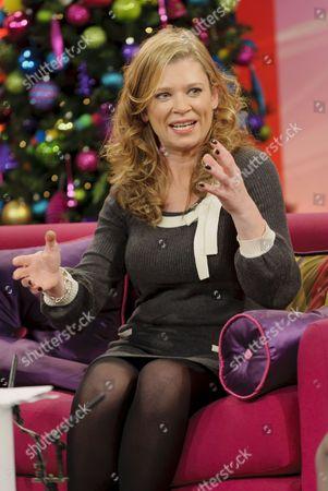Editorial photo of 'Lorraine Live' TV Programme, London, Britain. - 12 Dec 2011