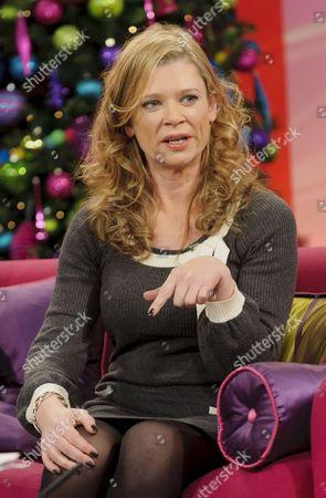Editorial picture of 'Lorraine Live' TV Programme, London, Britain. - 12 Dec 2011