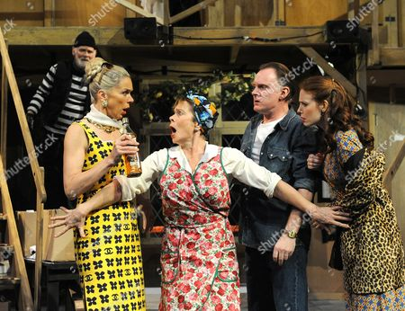 Karl Johnson as Seisdon, Janie Dee as Belinda, Celia Imrie as Dotty, Robert Glenister as Lloyd Amy Nuttall as Brooke