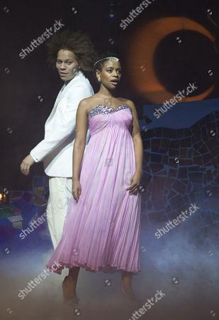 'Cinderella' - Craig Storrod as Prince Leo and Ayesha Antoine as Cinderella